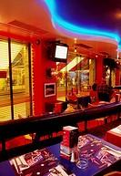 Fleet Street, Dublin City, County Dublin, Ireland, Sports cafe and bar