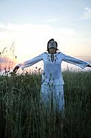 Girl in a corn_field, Girl in a corn_field, Young women in a corn_field, wellness people