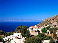 Cloister Moni_Preveli, Crete, Greece