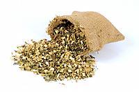Motherwort Herb, Leonuri Herba, Yi Mu Cao, cut out, object