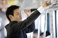 Businessman traveling, portrait