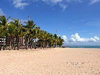 alagoas empty beach sands shore