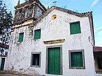 a temple church facade destroyed at bahia