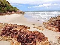 empty beach shore at parana