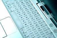 a laptop computer keys keyboard