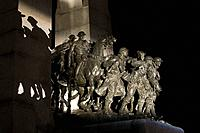 The National war memorial, Parliament building, Ottawa, Ontario, Canada