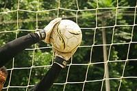 Ball, Goal, Field, Net, Player, Belém, Pará, Brazil