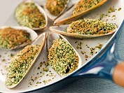 Green Lip Mussel with a Provencale Herb Crust