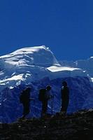 Trekking in the Himalaya, Langtang Valley, Nepal