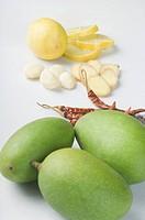 Mango pickle ingredients