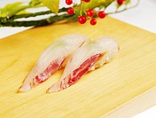 food, plate, brown croaker, decoration, food styling, cuisine, sushi plate