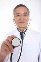 Doctor having a stethoscope