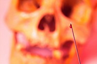 skeleton, injection, skull, human, body, injector