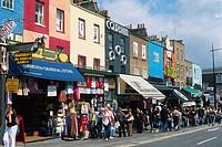 England _ London _ Camden Town district _ Camden Town and Camden Lock Market