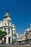 Spain _ Madrid _ Gran Via _ Edificio Metr¾polis _ Metropolis building