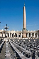 St  Peter´s square  The Vatican City, Rome, Lazio, Italy
