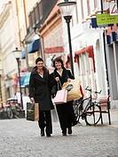 Women shopping , Skåne, Sweden