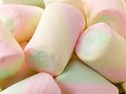 Coloured Marshmallows