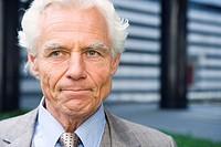 Germany, Baden Württemberg, Stuttgart, Senior Businessman, portrait