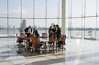 Business people in conference room for meeting