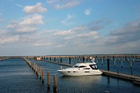 einsame Yacht
