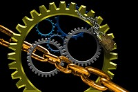 gears and chain
