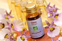 Essential oil of lemon.