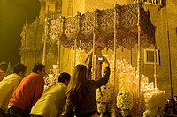 Holy Week procession, Sevilla. Andalucia, Spain