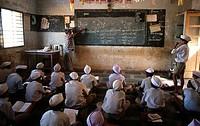 Rural school children , Sangli , Maharashtra , India