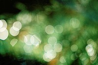 Abstract green lights