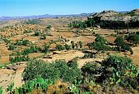 Ethiopia, Tigré region, landscape near Atsbi