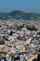 Panorama, Udaipur, Rajasthan, India