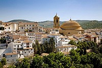 Church of the Incarnation, Montefrio. Granada province, Andalusia, Spain