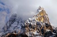 Cimon della Pala (3198 m), Dolomites, Italy
