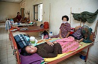 Cambodia. The government hospital Chey Chumneas ´Golden Victory´ where people with AIDS and TB get poor treatment, Phnom Penh