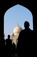 India, Uttar Pradesh province, Agra, the Taj Mahal.