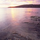 Australia, Tasmania, Lime bay, cloudy heaven, morning light,