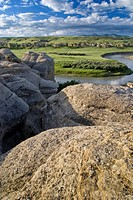 Writing_On_Stone Provincial Park, Alberta, Canada