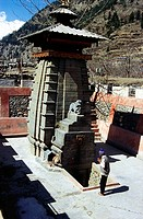 Shiva temple , Uttaranchal , India