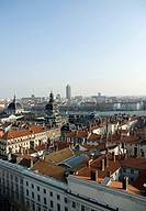 View over roofs of Lyon, France