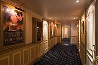 Hallway, Paedaste Hotel on Muhu Island, Estonia, Europe