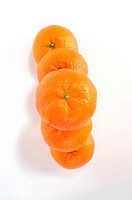 Stacked clementines