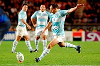 felipe contepomi,rugby world cup 2007,photo paolo bona/markanews