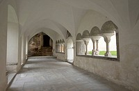 Cloister, Millstatt monastery, Carinthia, Austria