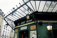 Art deco exterior, Le Petit Zinc restaurant, Paris, France, Europe
