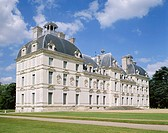 Exterior of the Chateau at Cheverny, Centre, France, Europe