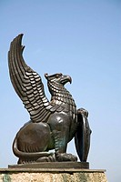 Griffin statue, Murom, Russia