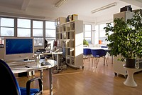 Rooftop Office, Cowleaze House, Kingston upon Thames, England.