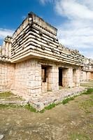 Cuadrangulo de los Pajaros, quadrangle or square of the birds, Maya archeological site Uxmal, Yucatan, Mexico