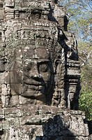 Bayon Temple, late 12th century, Buddhist, Angkor Thom, Angkor, UNESCO World Heritage Site, Siem Reap, Cambodia, Indochina, Southeast Asia, Asia